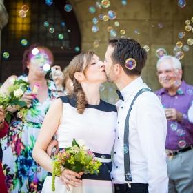 Hochzeit echte Emotionen Trauung