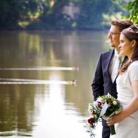Hochzeitsfotos See Brandenburg Natur