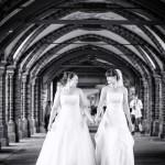 Hochzeitsportraits Brautpaarbilder Berlin Oberbaumbrücke Mike Bielski Hochzeitsfotograf