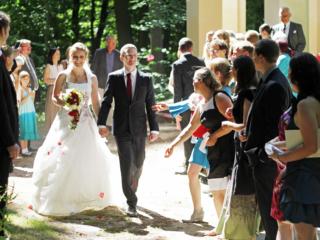 Hochzeit Brandenburg draußen open air