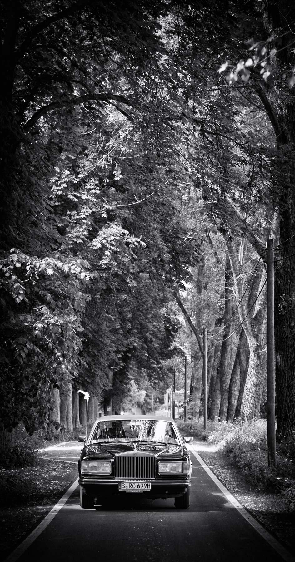 Rolls Royce Hochzeit Limousine Berlin Mike Bielski Hochzeitsfotograf
