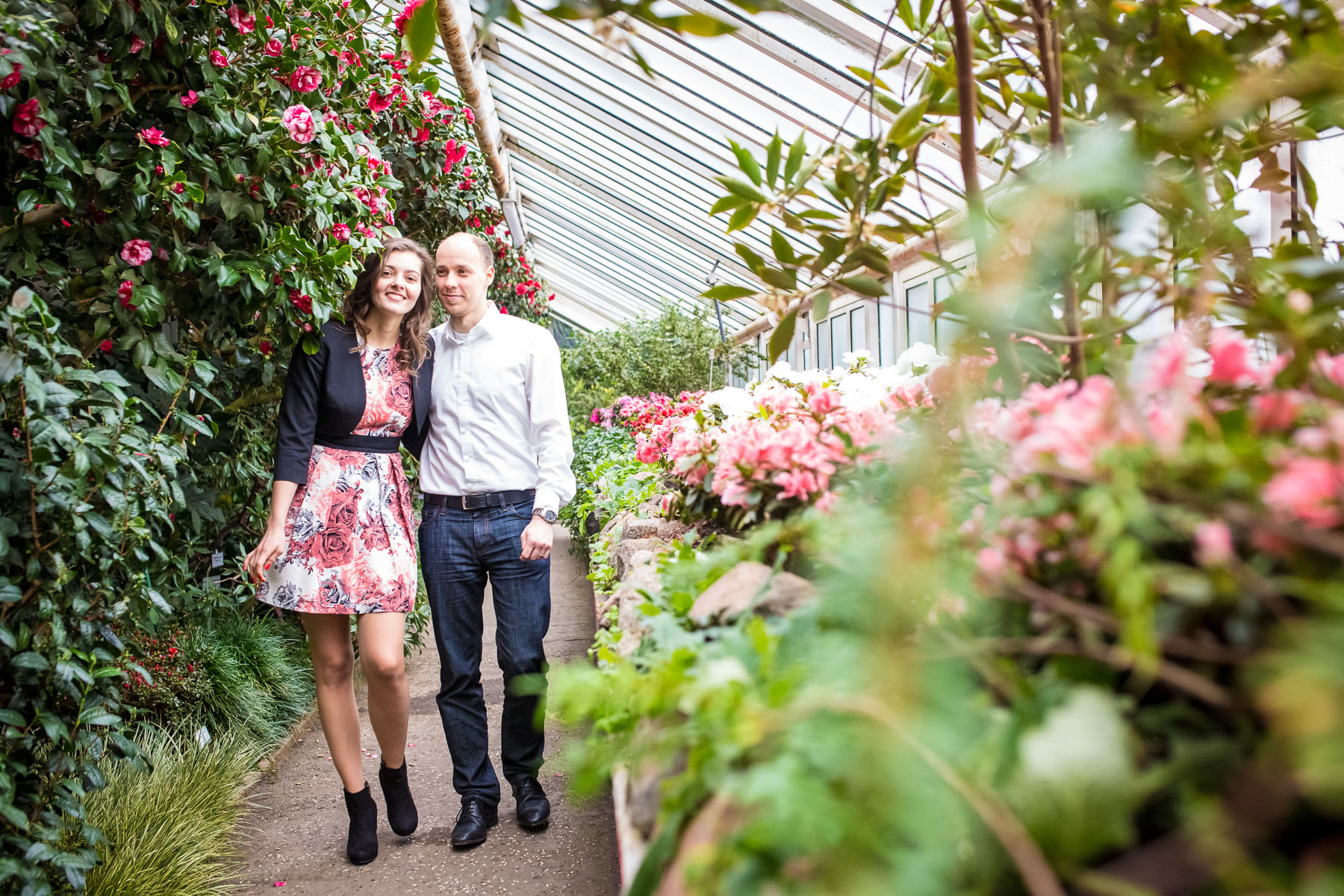 Botanischer Garten Berlin Mike Bielski Hochzeitsfotografie
